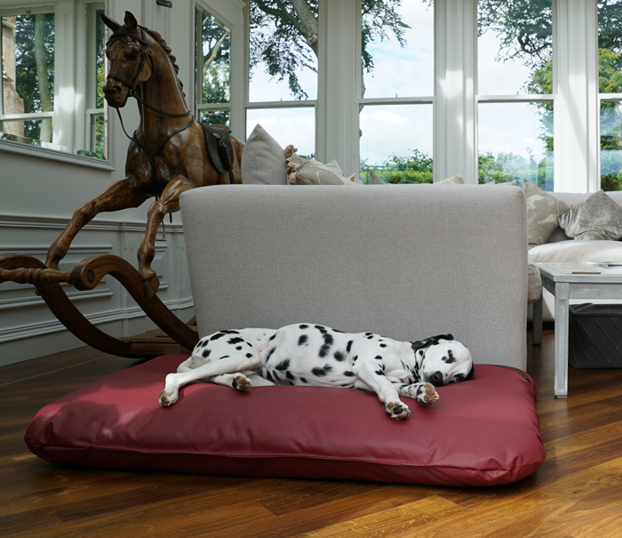 Wipe Clean Tuffies Mattress bed with Dalmatian.