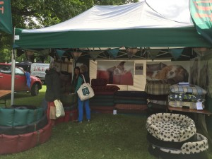 The Tuffies stand at Scone gamefair last year.