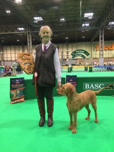 The winner of the Tuffies trophy at Crufts 2018
