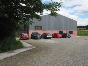 Tuffies Workshop and storage.